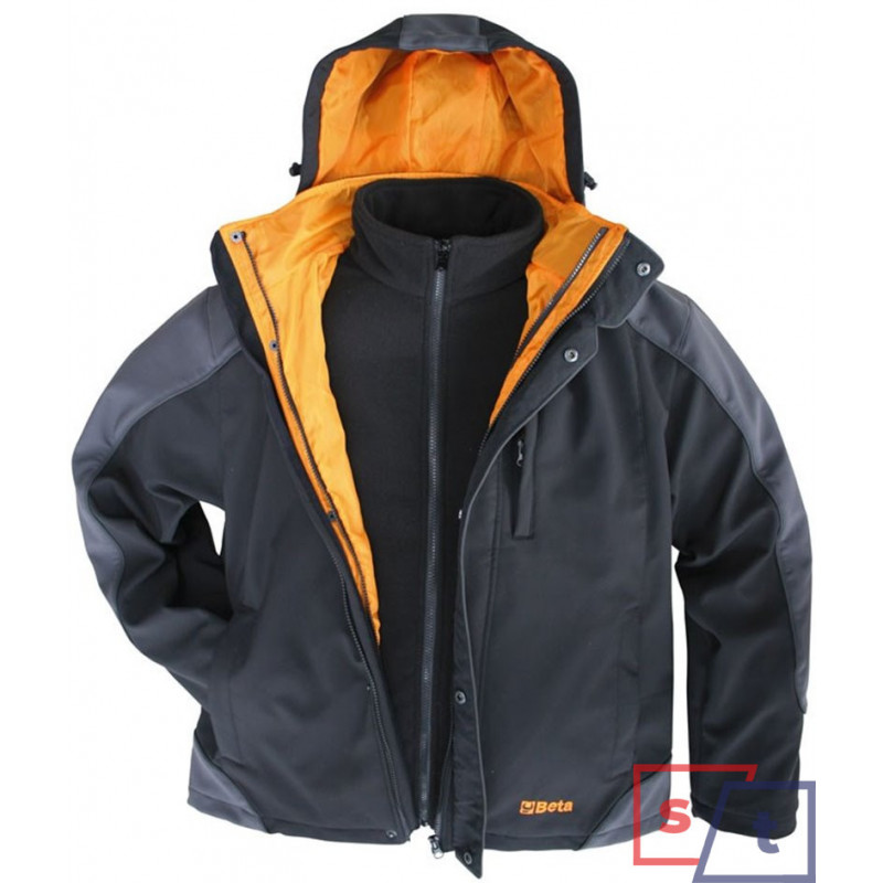 BETA KURTKA SOFTSHELL Z...